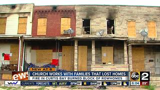 Curtis Bay Church raising money for fire victims - Video