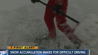 Long day of shoveling for Eden residents - Video