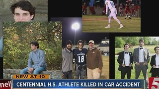 Centennial H.S. Student Killed in Car Accident - Video
