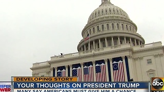 Arizonans heading to Washington DC for Donald Trump's inauguration - Video