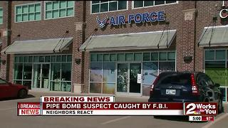 Pipe Bomb suspect caught by F.B.I. - Video