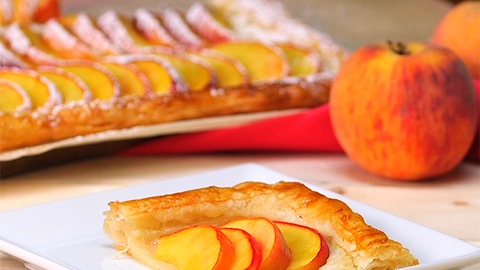 5 Ingredient Peach Tart