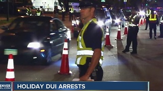 Thanksgiving DUI enforcement - Video