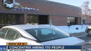 New company adding 170 full-time call center jobs to Milwaukee's northwest side - Video
