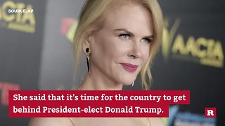 Nicole Kidman on Donald Trump - Video