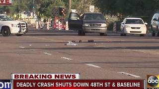 Phoenix police investigating hit and run - Video
