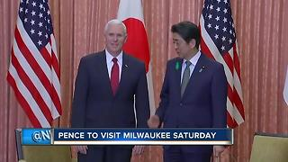 Pence to discuss health care in Milwaukee visit Saturday - Video
