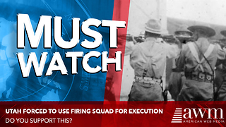 State Passes Law To Bring Back Firing Squad For Death Sentences. Do You Support This? - Video