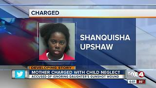 Mom arrested after child accidentally shot in the foot
