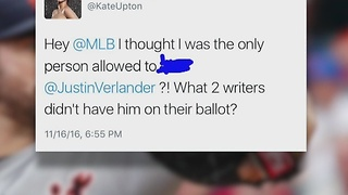 Kate Upton furious over Justin Verlander's Cy Young loss - Video