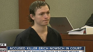 Erich Nowsch appears in court on Friday - Video