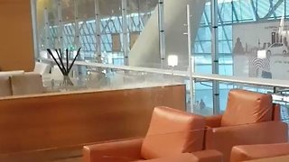 Madrid Airport Springs Leak During Heavy Rain - Video