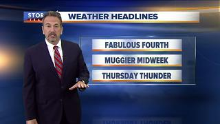 Scott Steele's Tuesday evening Storm Team 4cast - Video