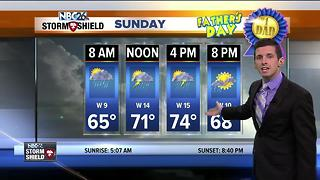 Dodging rain on Father's Day - Video