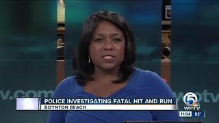 51-year-old woman killed in Boynton Beach hit-and-run crash - Video