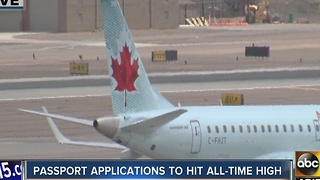 Passport applications on the rise - Video