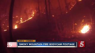 Dashcam Video Released From Sevier Co. Wildfires