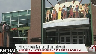 American Jazz Museum to celebrate Martin Luther King Jr.'s birthday - Video