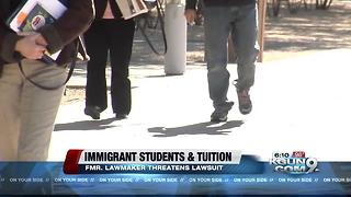 Fight flares in Arizona over tuition for young immigrants