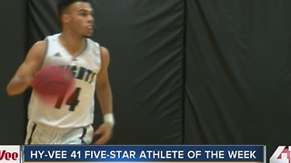 Hy-Vee 41 Five-Star Athlete of the Week: Barstow's Jacob Gilyard - Video