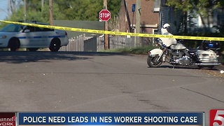 NES Worker Shot On The Job Seeks Help From Public - Video