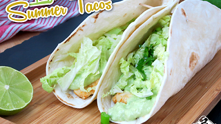 Light summer taco recipe - Video