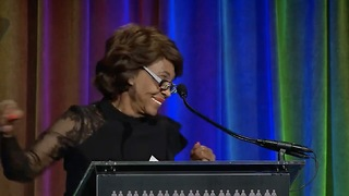 Maxine Waters Says She's Ready To Take Donald Trump Out!