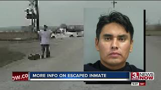 Escaped inmate told officials he walked to Council Bluffs - Video
