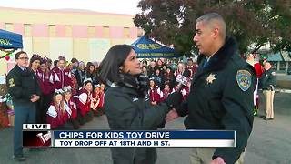 CHP's CHiPS for Kids Toy Drive will run until Dec. 18 - Video