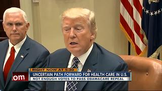 Uncertain path forward for health care in U.S. - Video
