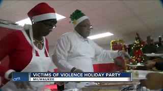 Victims of Milwaukee Violence hosts holiday party - Video
