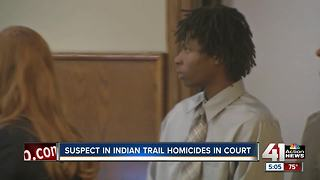 Accused Indian Creek Trail killer appears in court
