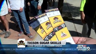 Fans come out to support Sugar Skulls