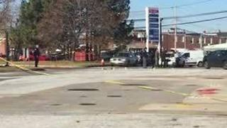 Double shooting at Dundalk gas station under investigation - Video