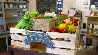 Local woman opens pay-what-you-can-afford produce store