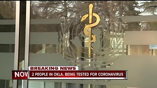 OSDH: 2 people in Oklahoma being tested for coronavirus