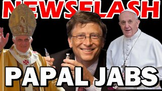 Pope Benedict XVI and Pope Francis Taking the Vaccine! | NEWSFLASH