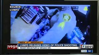 LVMPD releases body-cam footage of latest shooting - Video