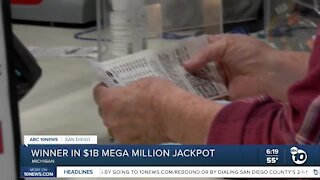 Winner in $1B Mega Millions Jackpot
