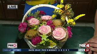 Mother's Day cupcake flower arrangements - Video