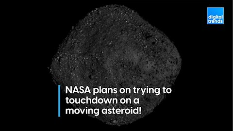 NASA Will Try to Land on an Asteroid