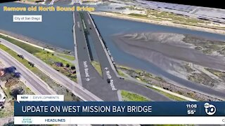 Portion of new West Mission Bay Drive bridge opened