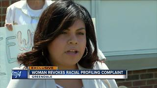 Woman withdraws racial complaint against the GPD - Video