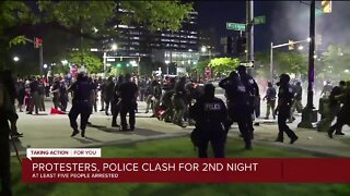 Protesters, DPD Clash for 2nd Straight Night