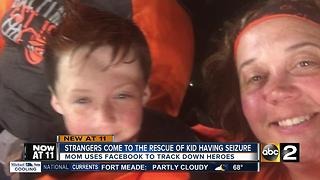 'Route 1 Angels' help save seizing 9-year-old - Video