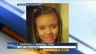 Armoni Chambers: 16-year-old Milwaukee girl critical missing, police say - Video
