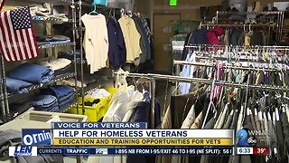 Help For Homeless Veterans Education and Training