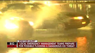 Local emergency management teams prepare for the storm