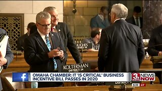 Omaha Chamber: It's Critical Business Incentive Bill Passes in 2020
