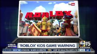 Officials warning parents about Roblox game for kids - Video